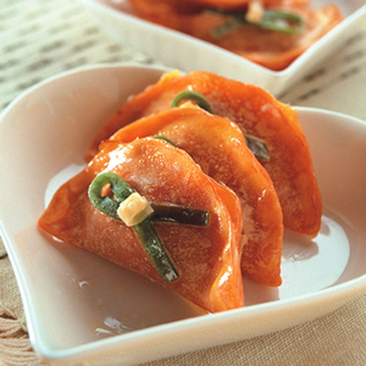 食譜:香烤鮪魚餃