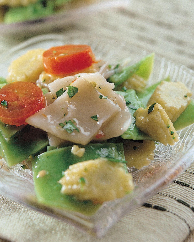 食譜:餃皮沙拉