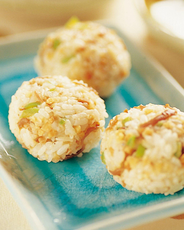 食譜:甘露小魚飯糰