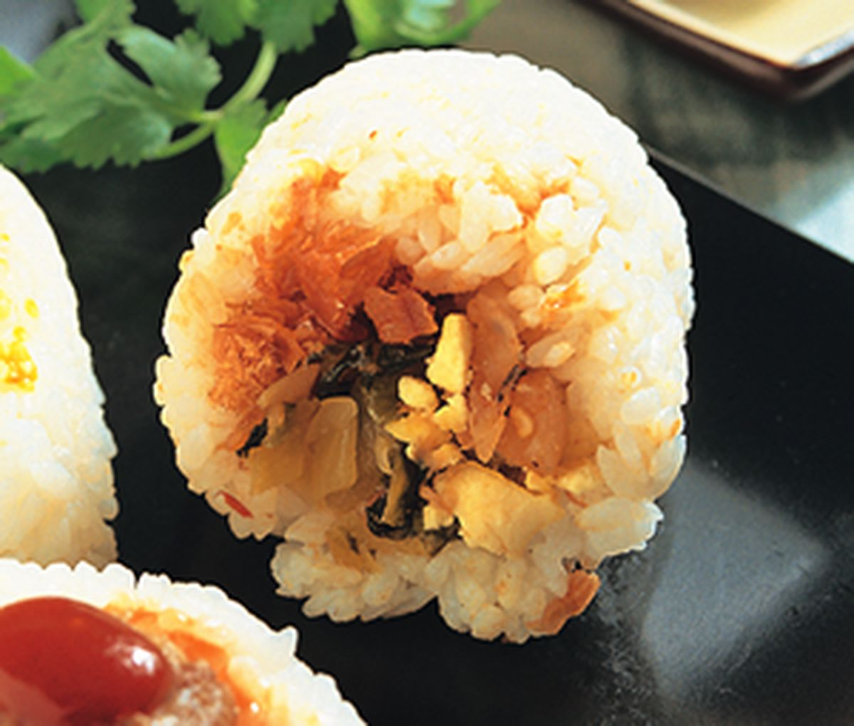 食譜:中華味飯糰