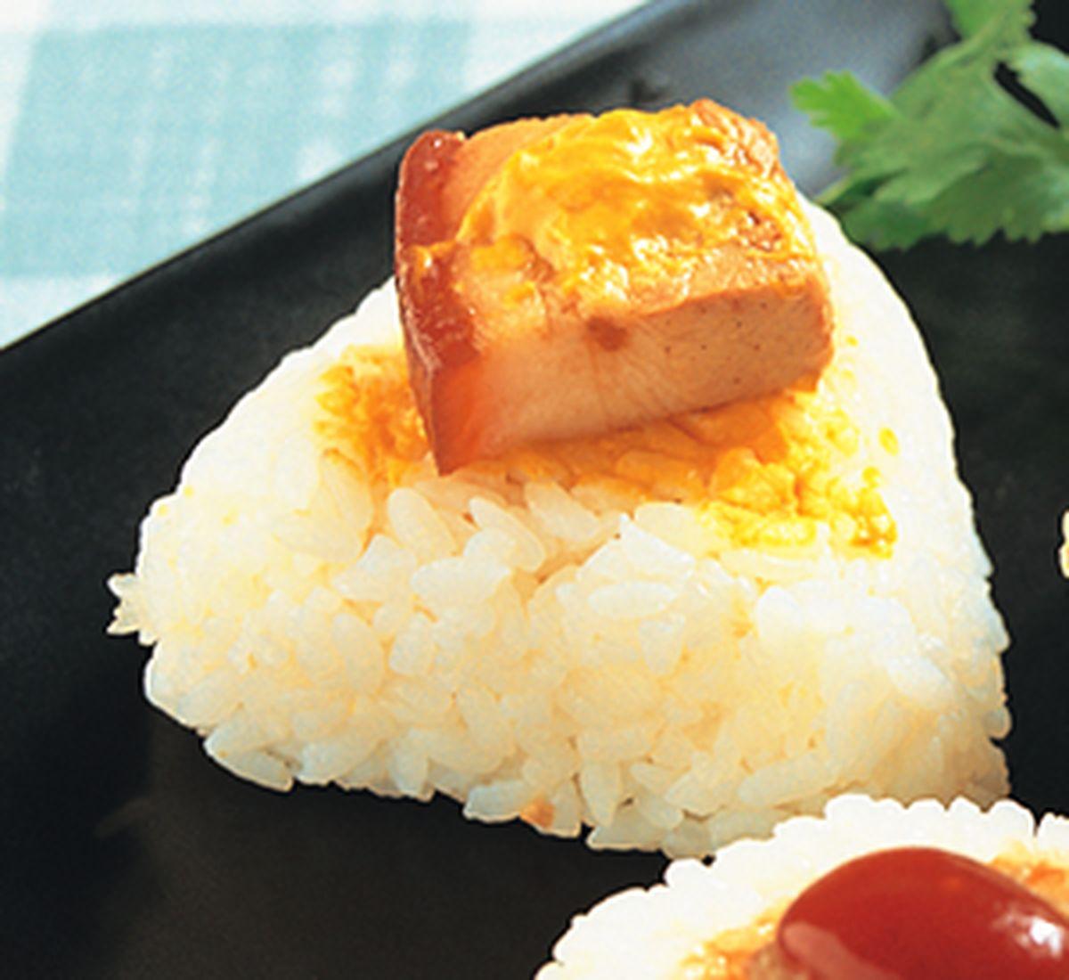 食譜:日式角煮飯糰