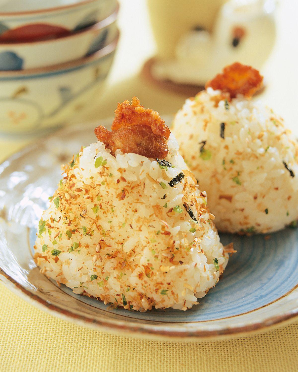 食譜:唐揚雞肉塊飯糰