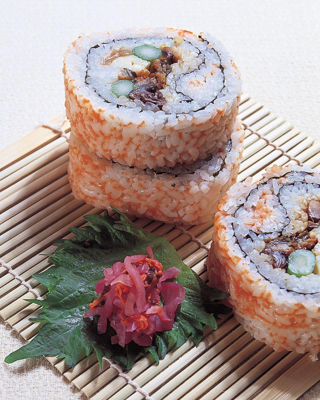 食譜:錦繡花壽司
