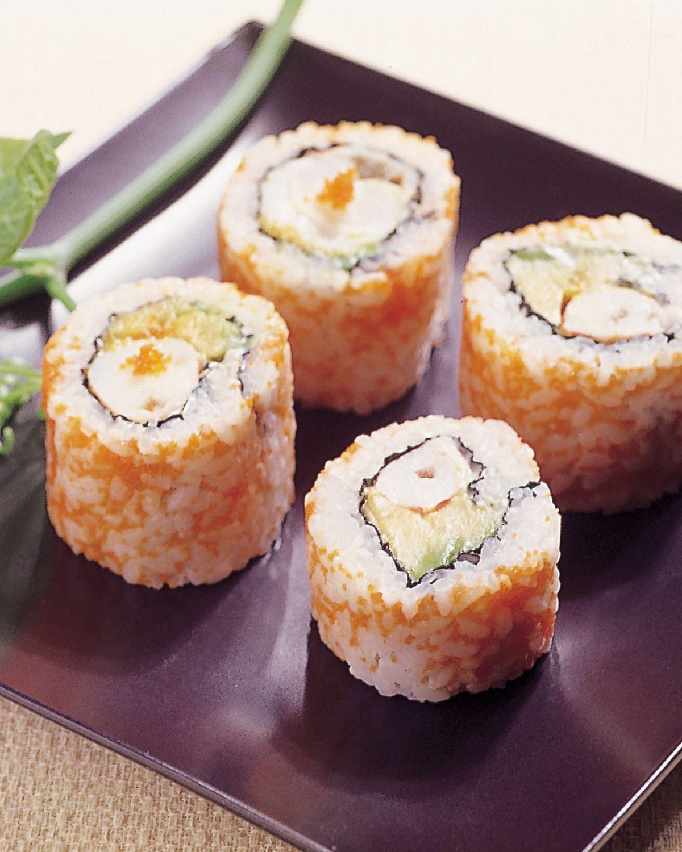 食譜:酪梨明蝦卷