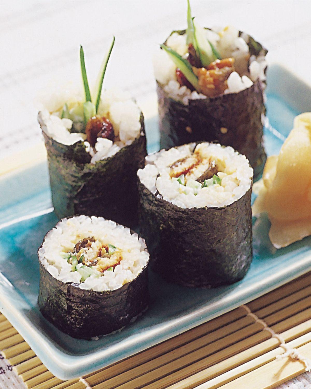 食譜:蒲燒鰻魚卷