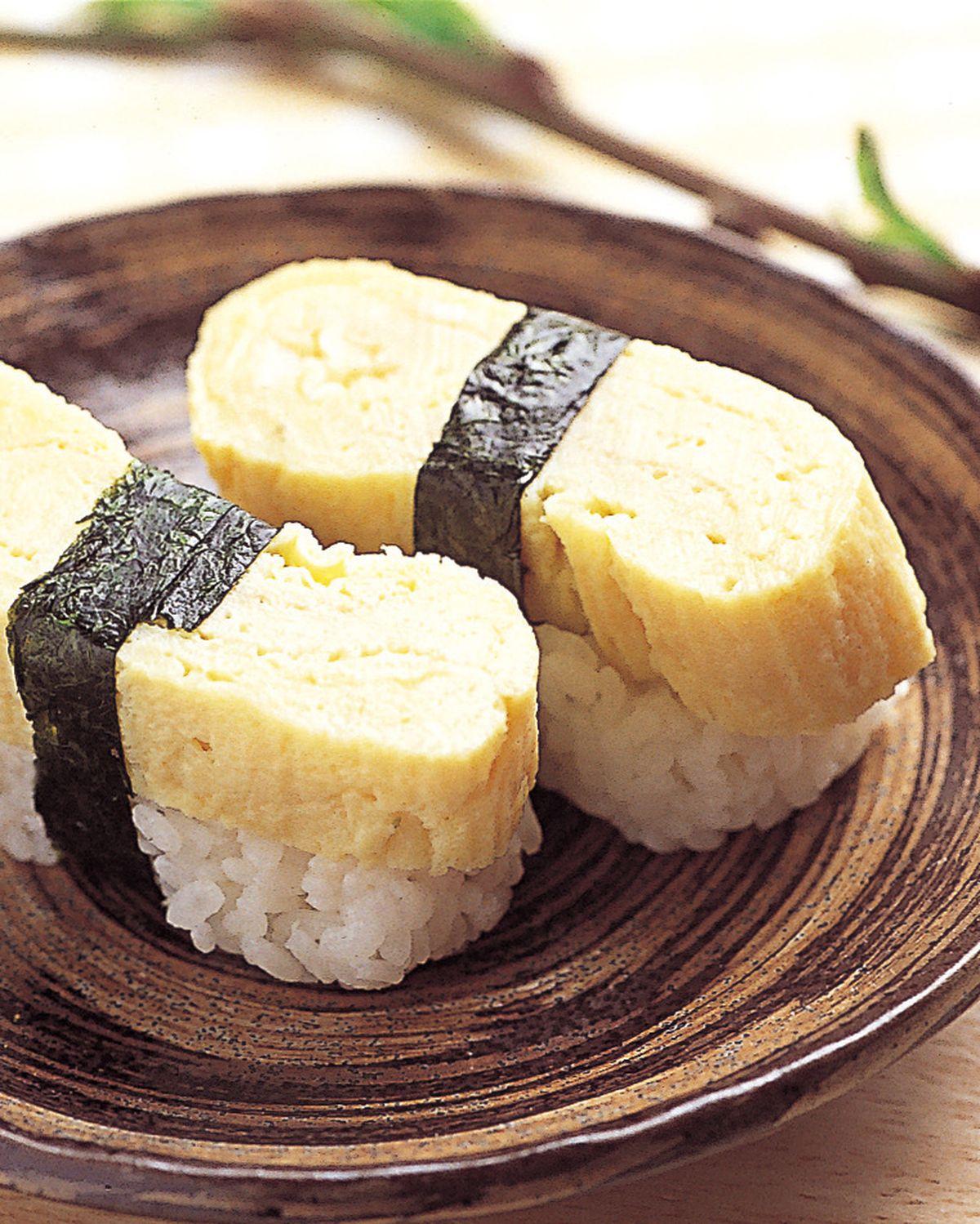 食譜:厚蛋燒握壽司