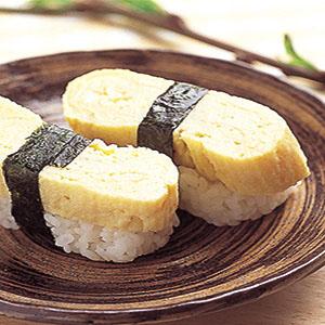 厚蛋燒握壽司