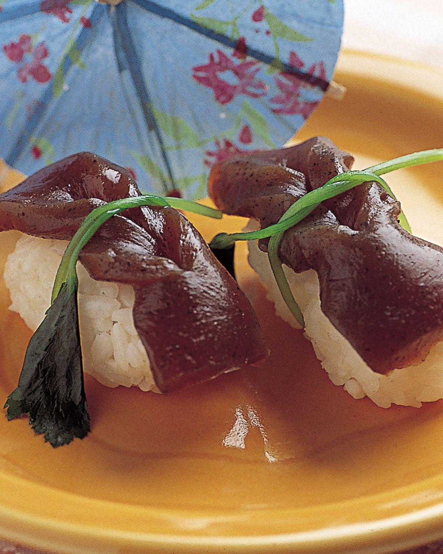 食譜:蒟蒻煮握壽司