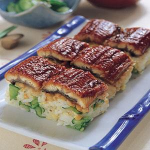 鰻魚堅果箱壽司
