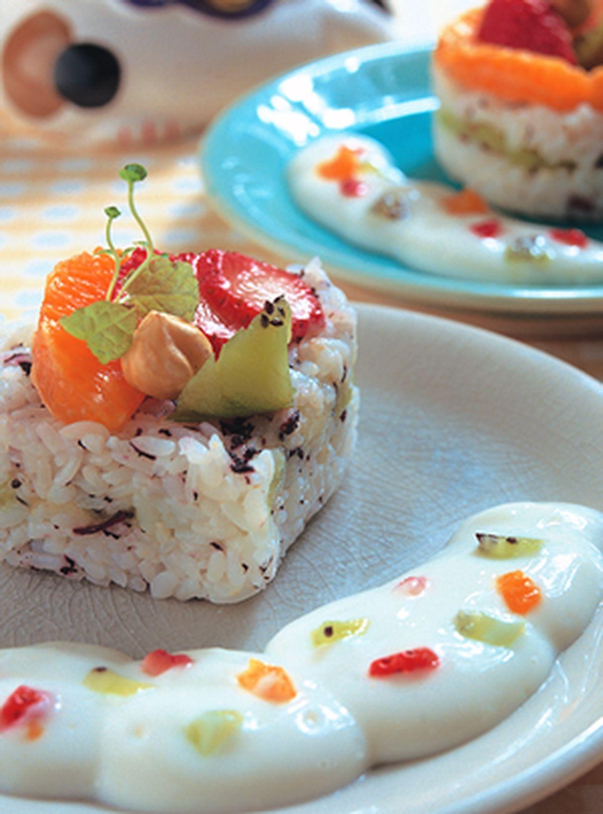 食譜:水果蛋糕壽司