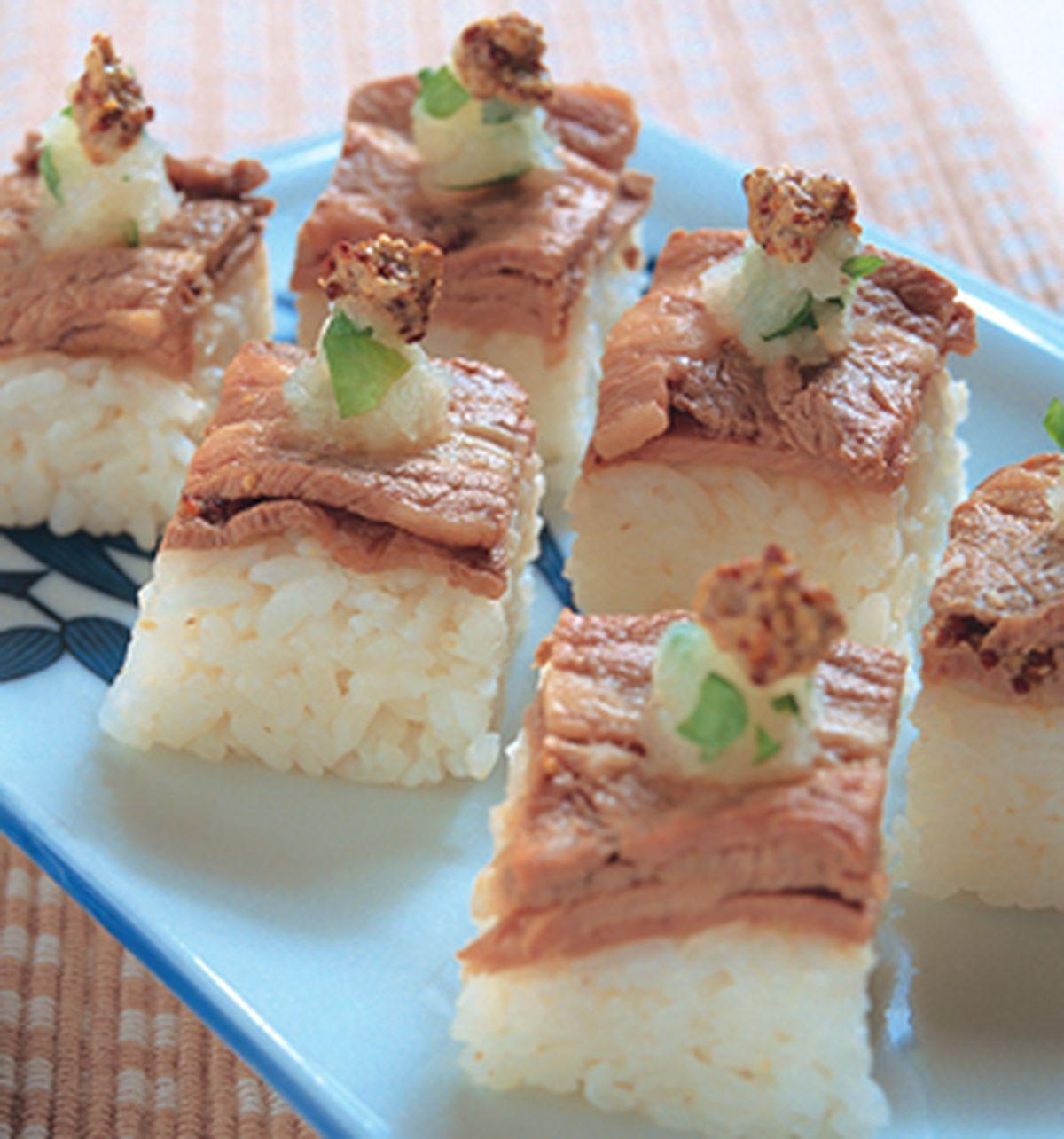 食譜:涮牛肉箱壽司