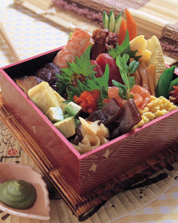 食譜:散壽司