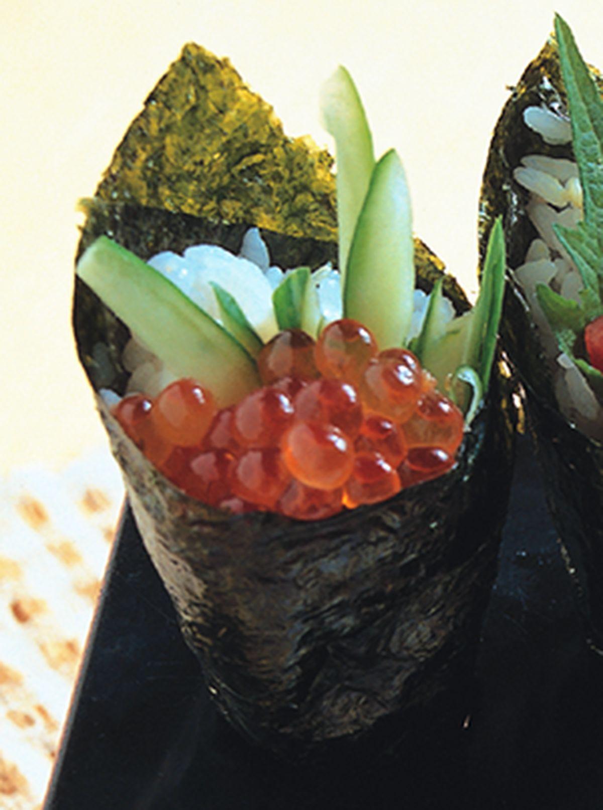 食譜:鮭魚卵手卷