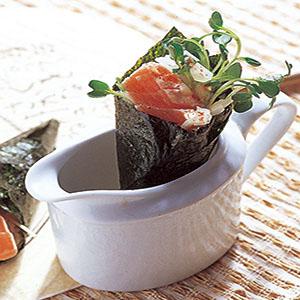 鮮辣鮭魚手卷