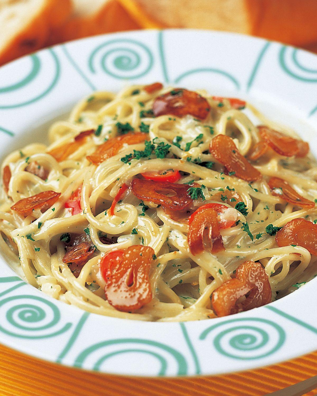 食譜:大蒜奶油義大利麵