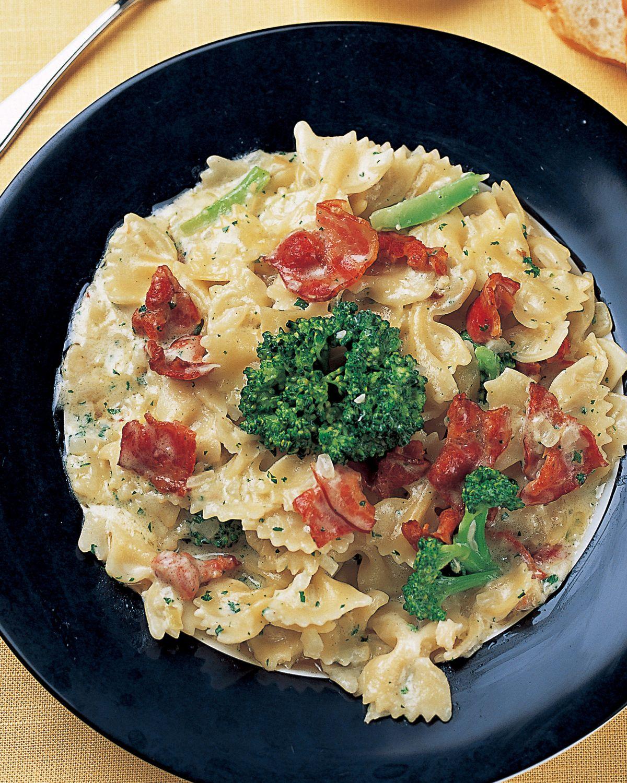 食譜:培根奶油義大利麵