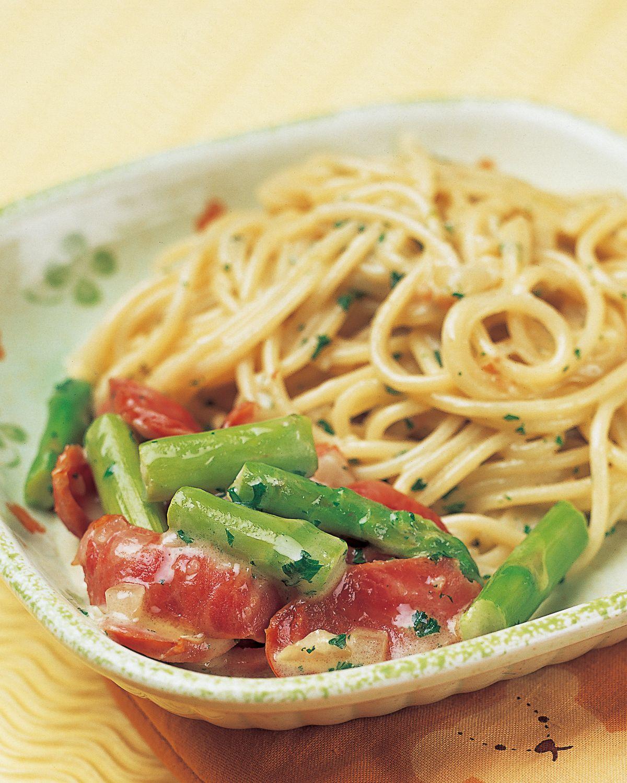 食譜:香腸奶油義大利麵