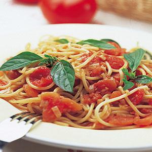 原味蕃茄醬義大利麵