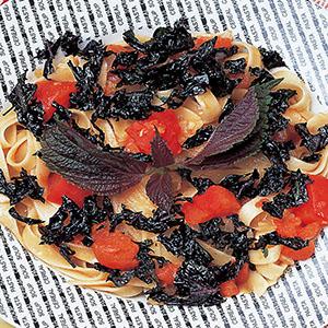 紫蘇蕃茄義大利麵