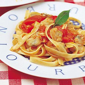 蕃茄蛤蜊義大利麵