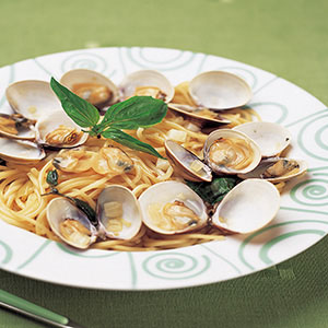 蛤蜊清醬義大利麵