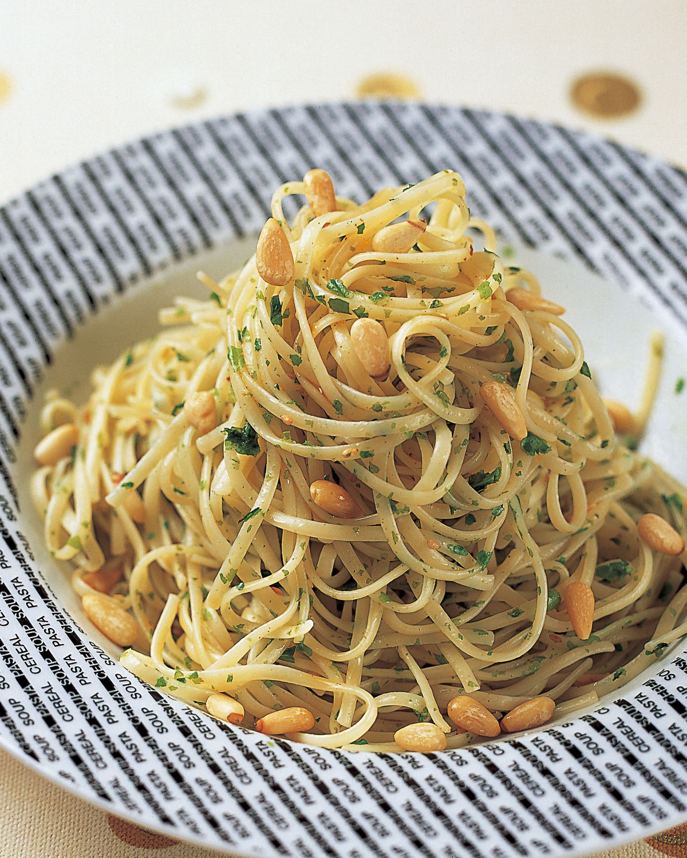 食譜:松子醬義大利麵