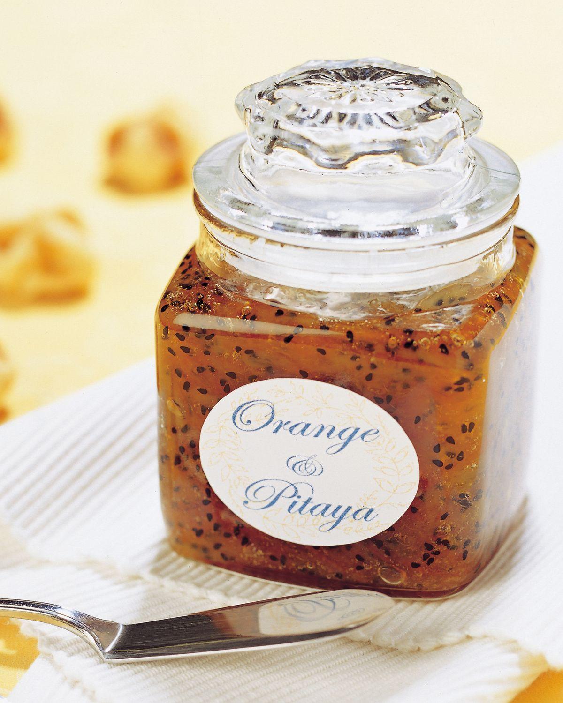 食譜:橘子火龍果果醬