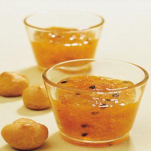 柳橙百香果醬