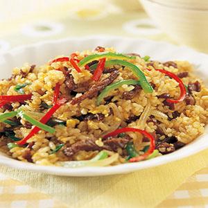 青椒牛柳炒飯