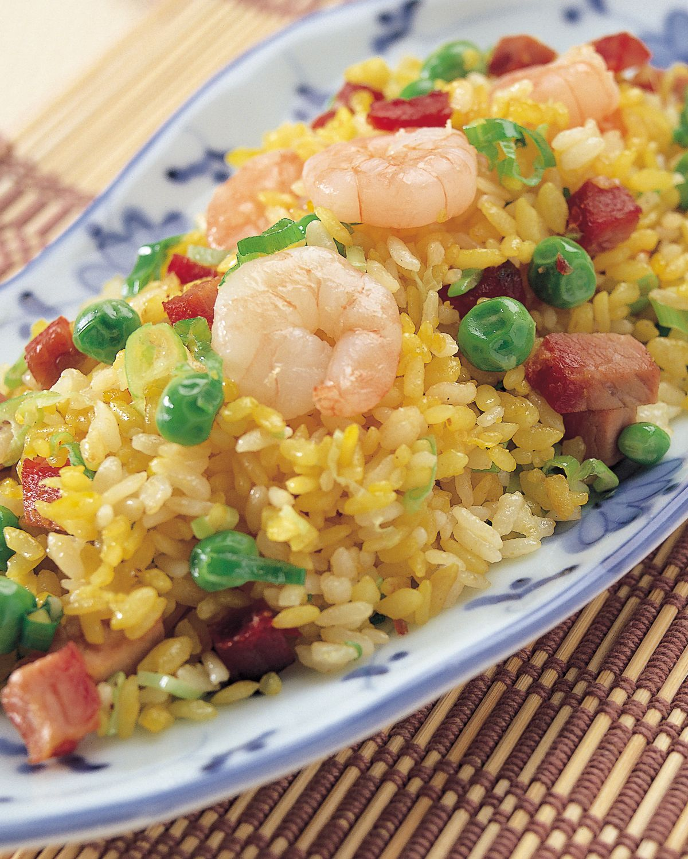 食譜:揚州炒飯