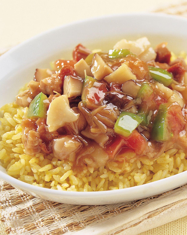 食譜:福建炒飯