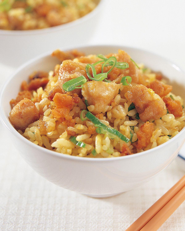 食譜:咸魚雞粒炒飯