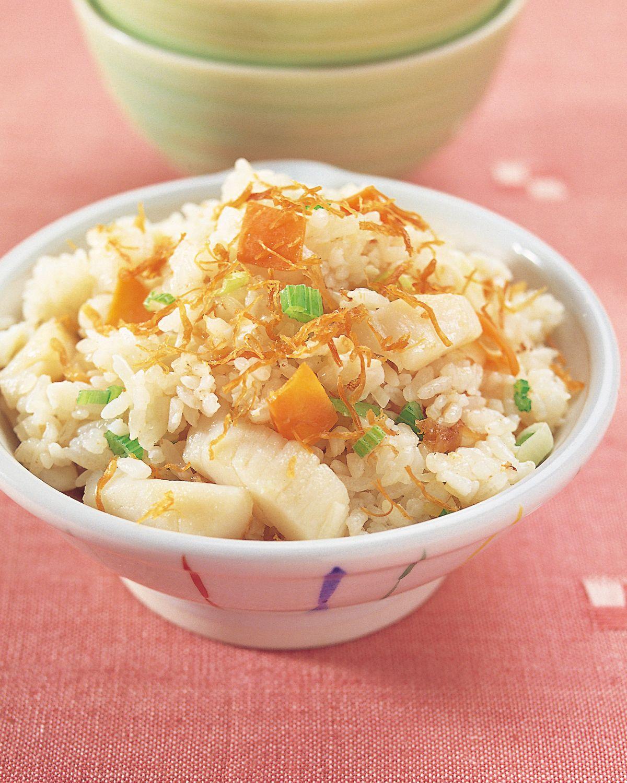 食譜:干貝蛋白炒飯