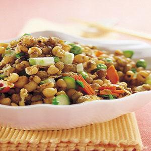 綠豆薏仁炒飯