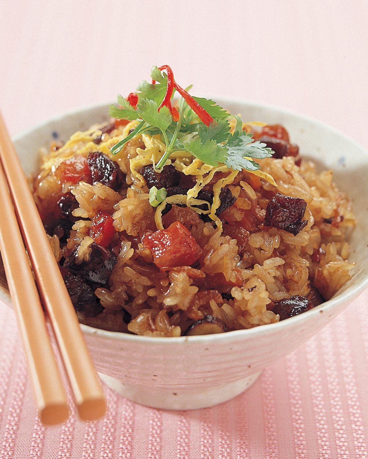 食譜:生炒糯米飯