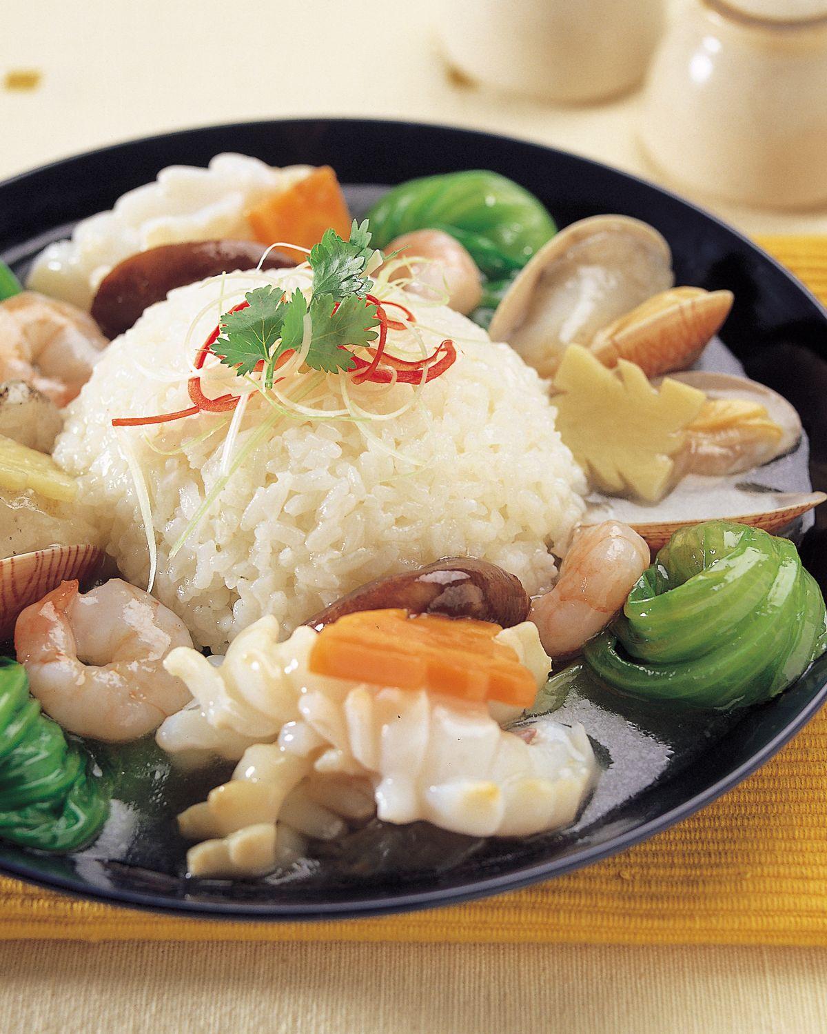 食譜:三鮮燴飯