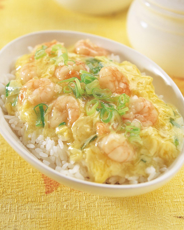 食譜:滑蛋蝦仁燴飯(2)