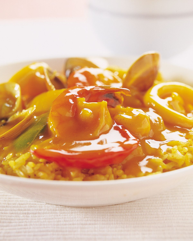 食譜:西班牙海鮮燴飯