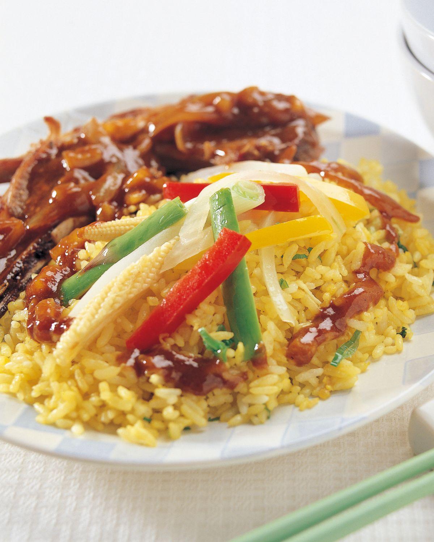 食譜:沙茶羊排燴飯