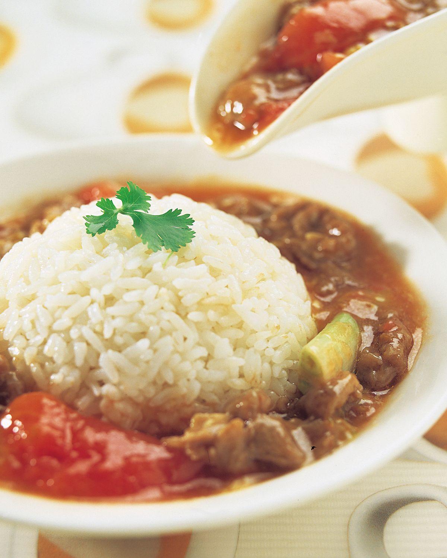 食譜:蕃茄牛肉燴飯