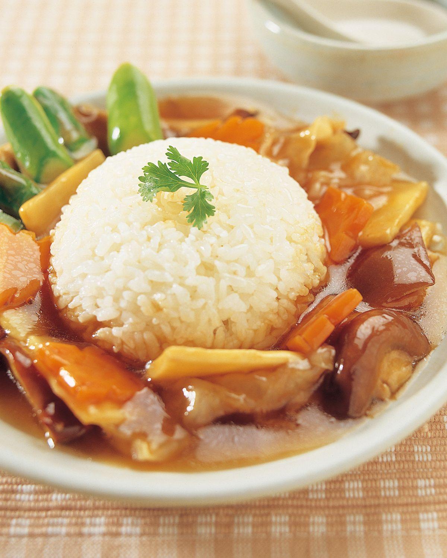 食譜:羅漢齋燴飯