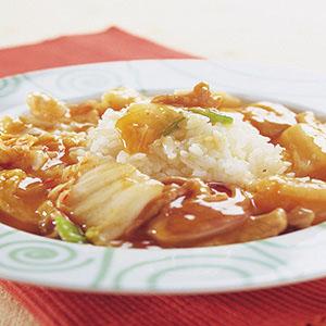韓式泡菜燴飯