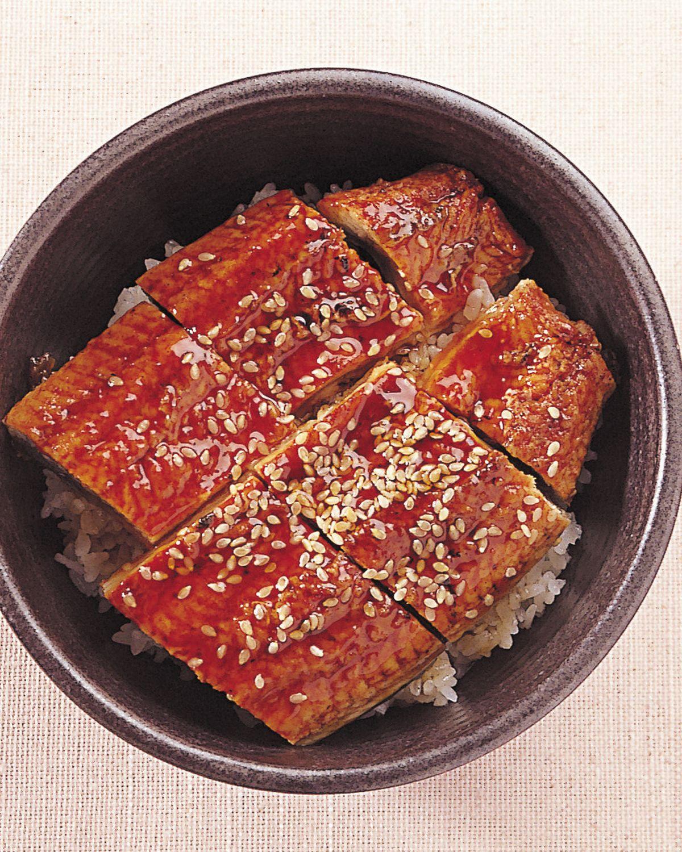食譜:鰻魚丼