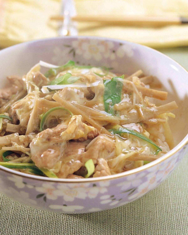 食譜:柳川風味丼