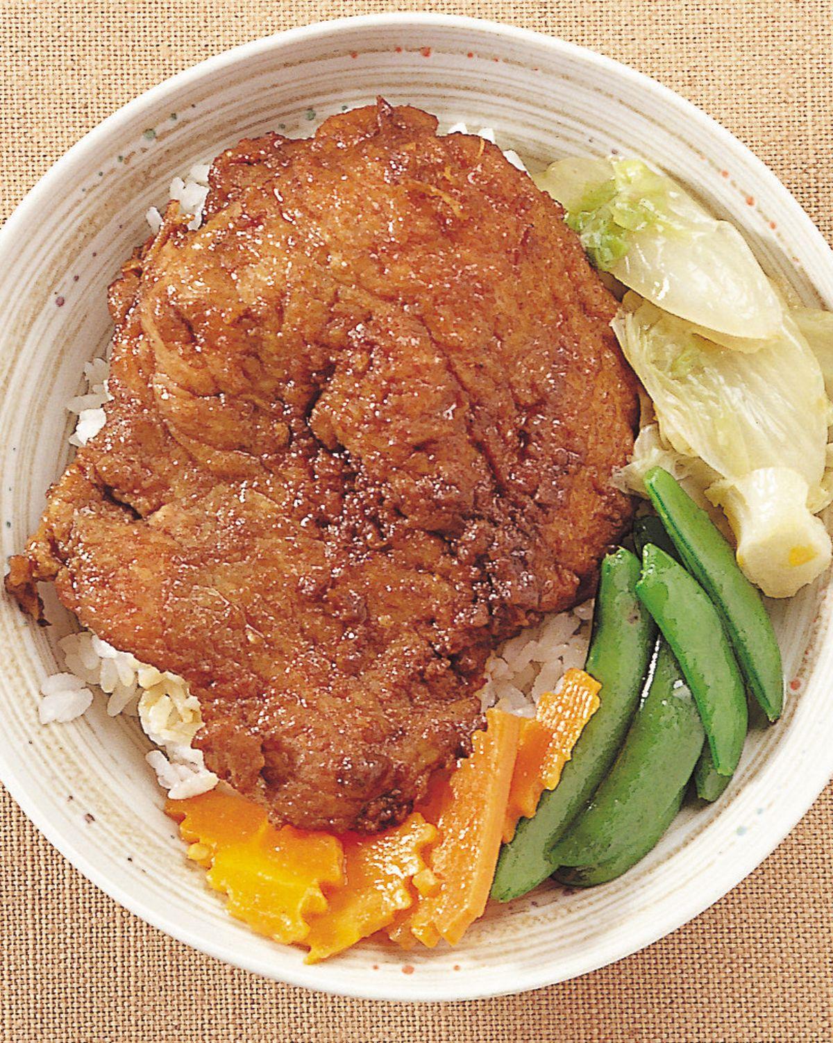 食譜:中式豬排飯