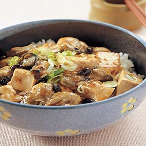 蚵仔豆腐丼