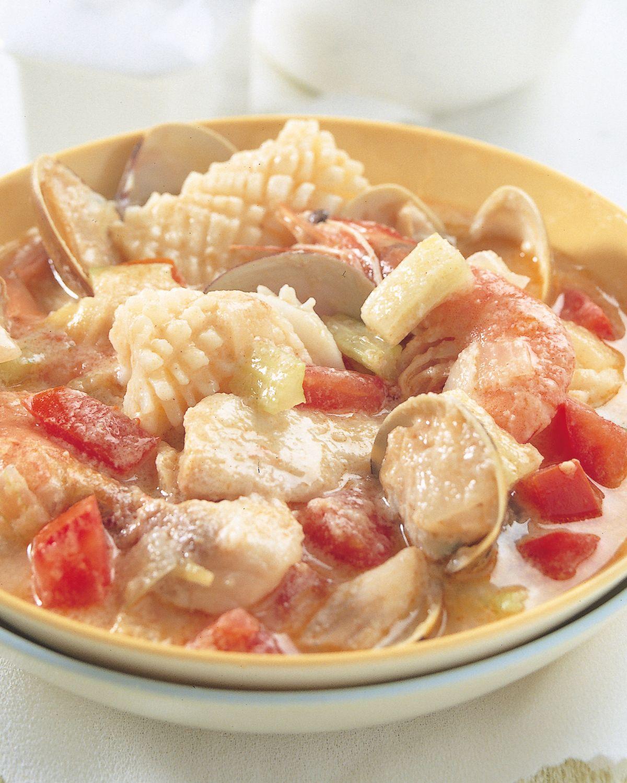 食譜:西式海鮮飯