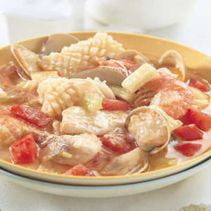 西式海鮮飯