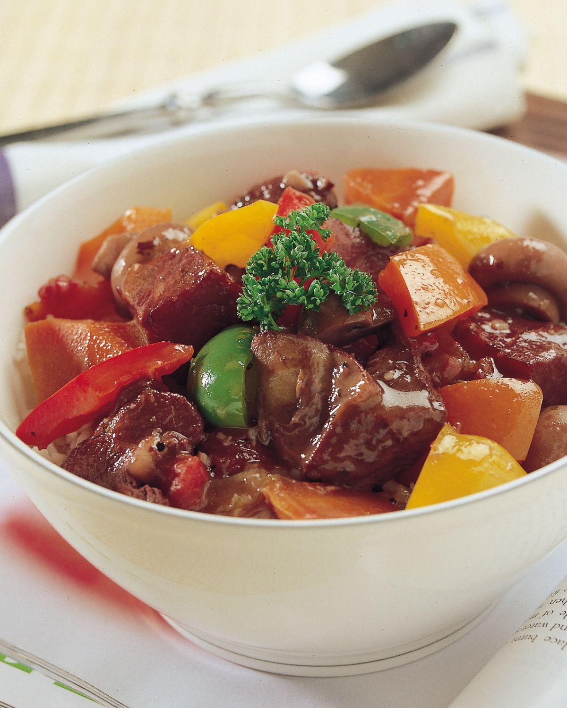 食譜:紅酒雞肉丼