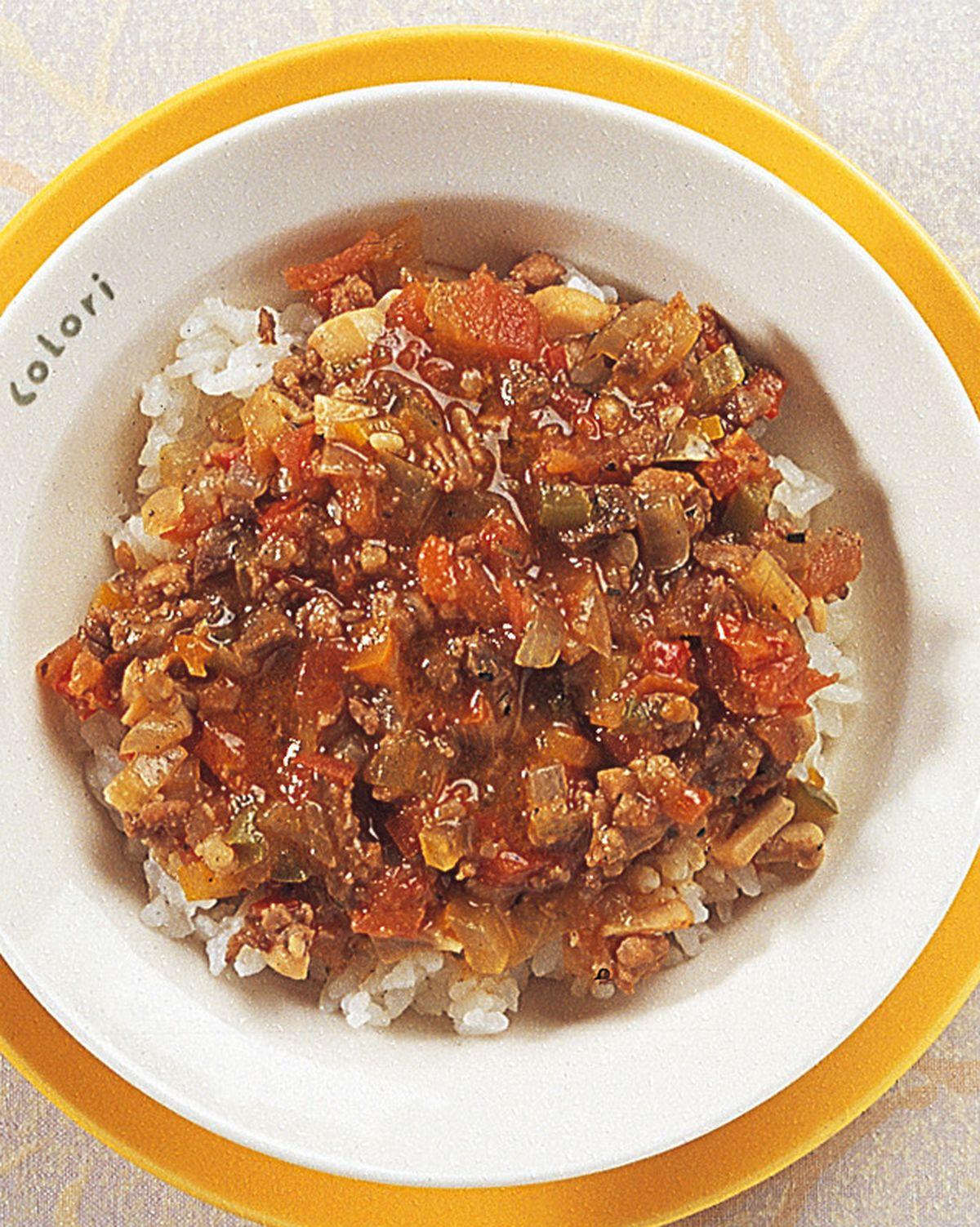食譜:義大利蔬菜肉醬飯
